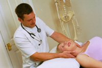 treatment by the osteopath